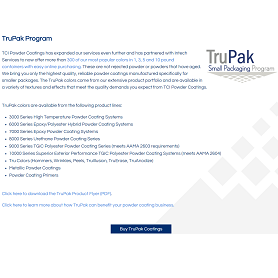 TruPak Small Packaging Program